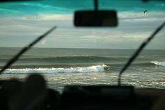 BIG DROP Rockaway Beach Nov 20, 2011 (planetlight) Tags: california winter beach big surf waves surfing pacifica swell rockaway