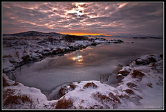 Light on Ice (Frijfur M.) Tags: winter sunset sky mountain lake snow ice water colors grass clouds iceland autofocus ingvallavatn canon50d tokina116 dblringexcellence tplringexcellence eltringexcellence rememberthatmomentlevel4 rememberthatmomentlevel1 frijfurm rememberthatmomentlevel2 rememberthatmomentlevel3 rememberthatmomentlevel7 rememberthatmomentlevel5 rememberthatmomentlevel6 rememberthatmomentlevel8