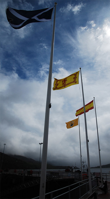 Flags in Ullapool