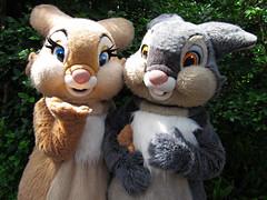 Miss Bunny and Thumper (meeko_) Tags: miss bunny missbunny thumper rabbit bambi characters disneycharacters campminniemickey disneys animal kingdom disneysanimalkingdom themepark walt disney world waltdisneyworld florida