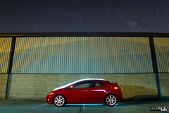 Honda Civic Type R (ason) Tags: uk red england white lightpainting cars car photoshop canon honda dark photography europe industrial photographer estate bare flash dramatic automotive ps symmetry professional ocf pro civic dslr behindthescenes cambridgeshire typer bts unit huntingdon 19inch strobist 400d worldcars jasonpatel wwwjasonpatelcouk