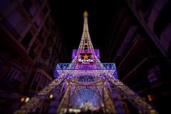 HULALA we're in paris (xiao song sheng) Tags: light luz valencia la spain tour eiffel espana castillo pars fallas