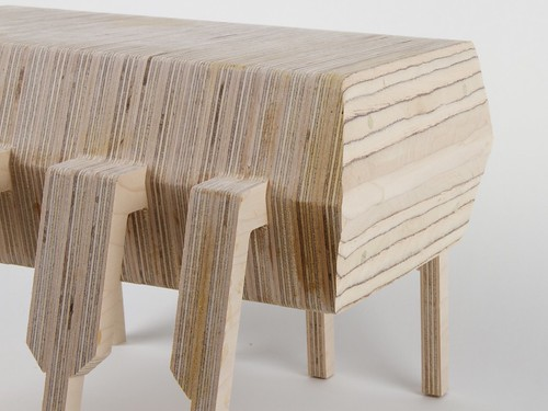 how to make a wooden footstool