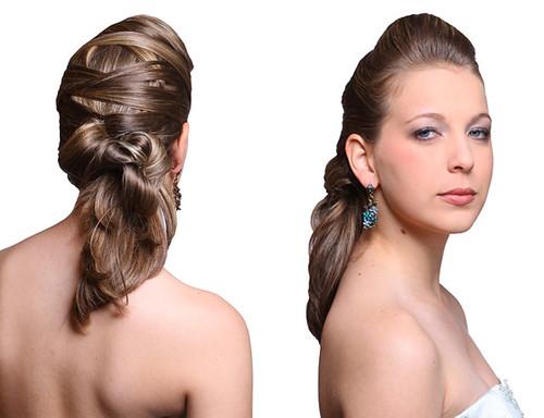 penteados para debutantes 2012
