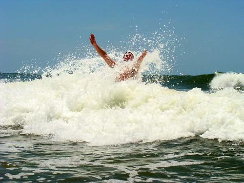 Gaverston TX Wave Jumping