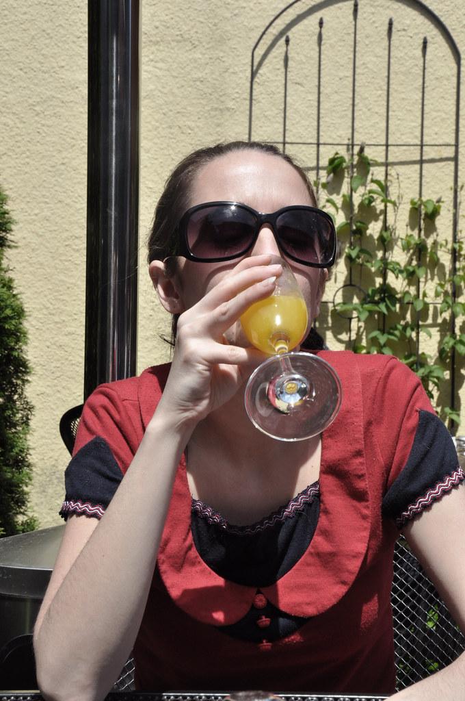 brunch mimosa.