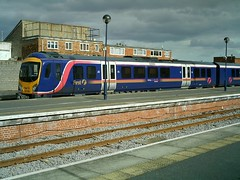 185106 Cleethorpes (Beer today, red wine tomorrow.....) Tags: dmu cleethorpes class185 uk railway lincolnshire 185106 firsttranspennineexpress fristtranspennineexpress ftpe tpe