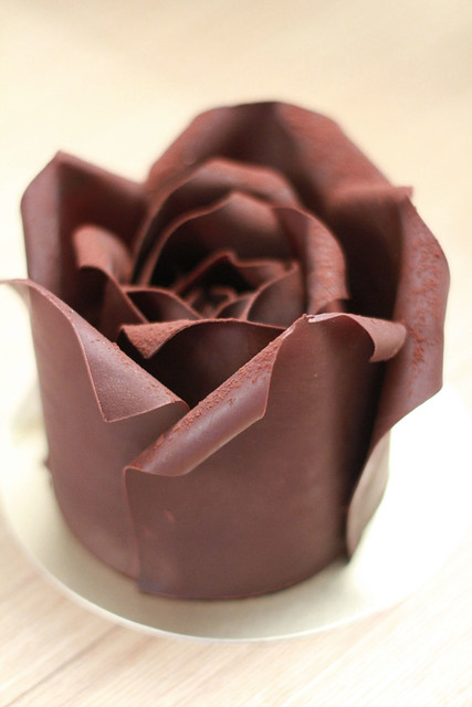 Patisserie Tony Wong Rose Chocolate Cake