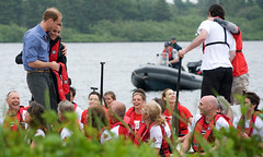 An intimate moment with Their Royal Highnesses (Government of Prince Edward Island) Tags: coastguard waterbird princeedwardisland dragonboat pei charlottetown summerside royalvisit dalvay royaltour williamandkate