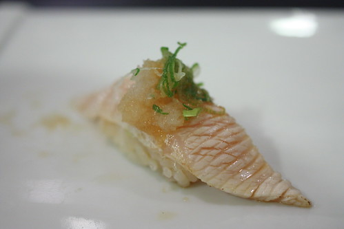 Buri Toro (Seared Yellowtail Stomach)
