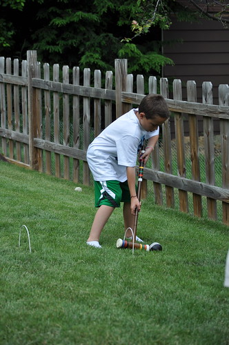 Backyard fun June 2011