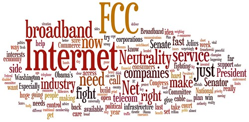 Wordle of Kerry's letter re: Net Neutral by believekevin, on Flickr