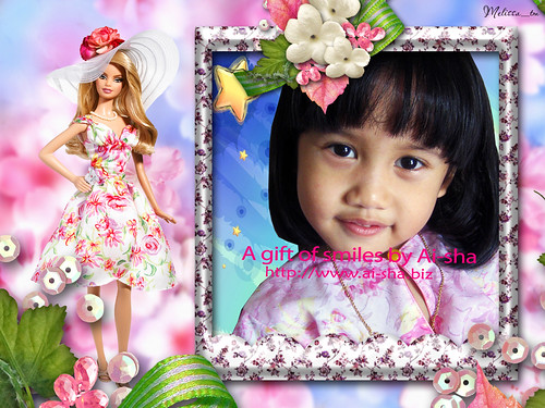 Barbie Photo Frame by Melisa_tm (Code: Barbie F 3)