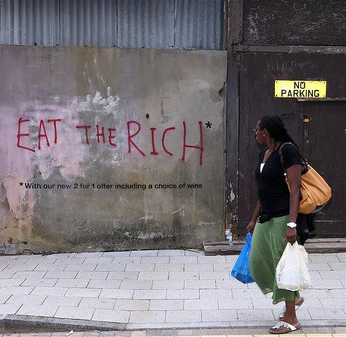 EAT THE RICH! Perchè e come