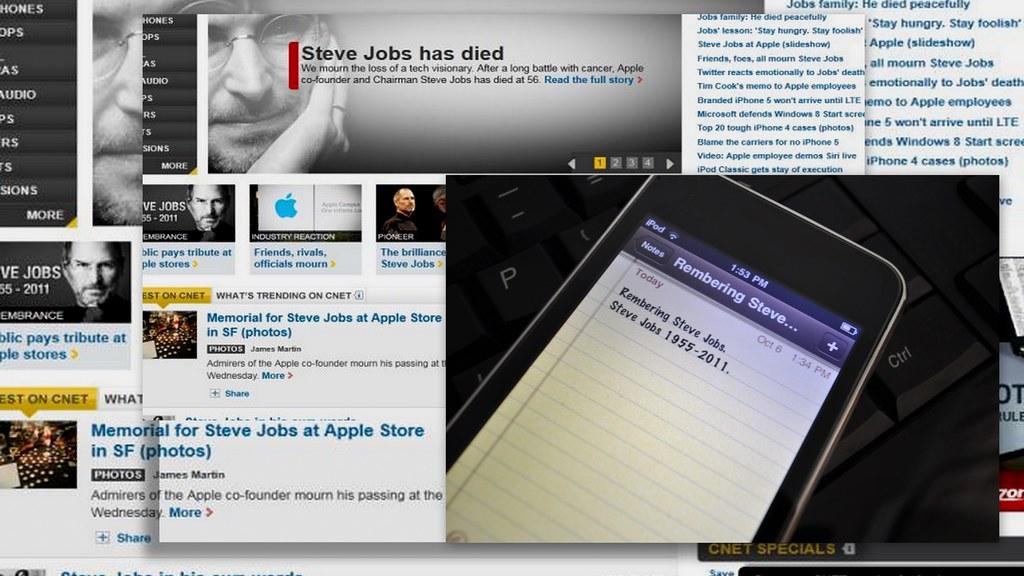 "Remembering Steve Jobs ""世界因他而无限精彩"" ..."
