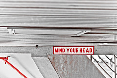 MIND YOUR HEAD (1969cw) Tags: sign singapore singapur sgp mindyourhead centralsingapore