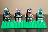Clone Troopers (g cobb) Tags: starwars lego mini clonetrooper deltasquad