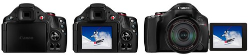 Canon SX30 IS -- Articulating LCD