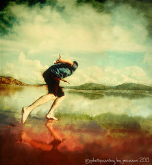 the boy who played alone on the beach
