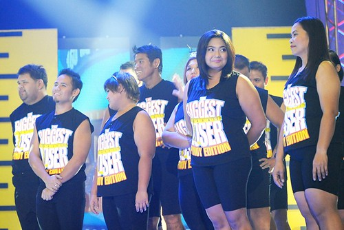 The at-home contestants wait for their final weigh-in--The Biggest Loser Pinoy Edition Grand Finale