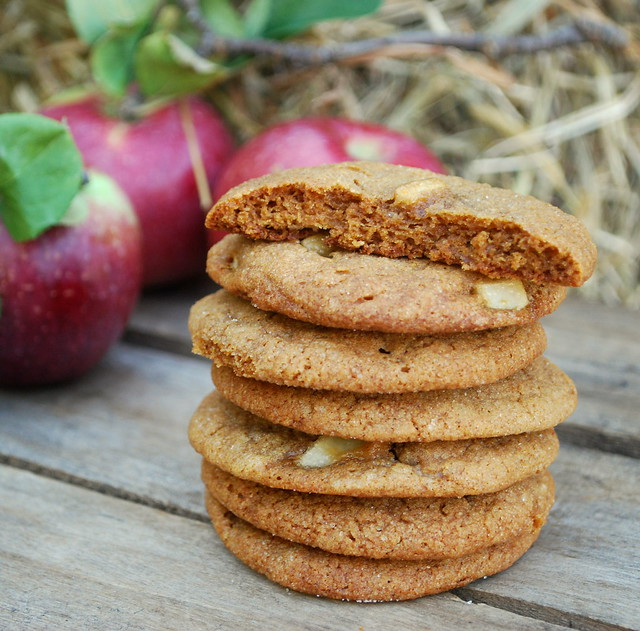 Apple Molasses Cookies CU