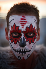 Nick ('SeraphimC) Tags: family camping friends sunset fun evening high desert nevada playa burningman blackrockcity brc diadelosmuertos calavera gerlach 2011 drcarlsdepartmentofcollections doctorcarl