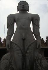 The Monolith Gomateswara Bahubali statue