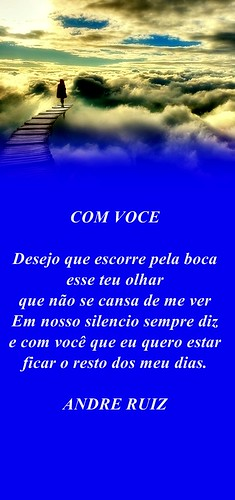 COM VOCE by amigos do poeta