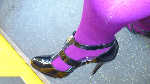 Awesome shoes and tights