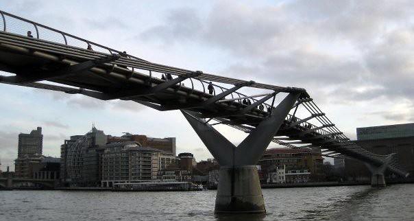London Bridge: Millennium bridge