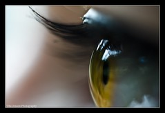 Eye catching (Ulla Jensen Photography) Tags: iris macro eye closeup 50mm eyelashes makeup eyecatching nikond7000 wwwullajensencom