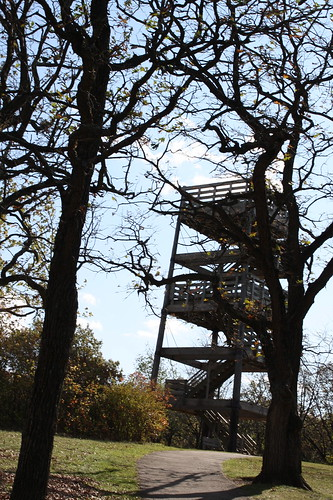 Lapham Peak tower