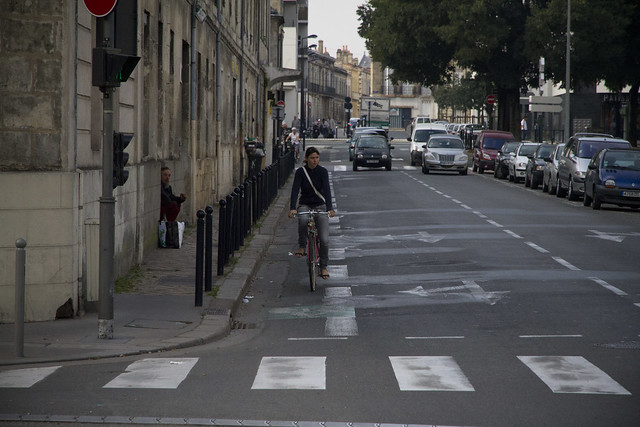 Bordeaux Bike Lane