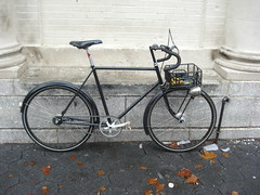 """""""Finished"""" (jimn) Tags: bicycle brooklyn handmade commuter fillet brazed sturmeyarcher s2c 650a"""