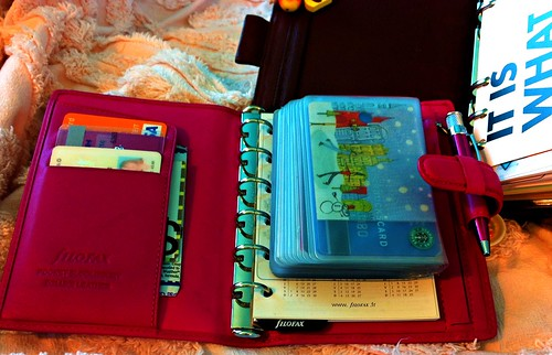 pocket bloomsbury filofax