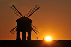 Chesterton Windmill (The Photographer) (JRT ) Tags: autumn wedding sunset wallpaper england people sun windmill silhouette groom bride nikon warm photographer tripod sails sunny clear chesterton tog chestertonwindmill d300s doubleniceshot johnwarwood flickrjrt