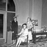 Women in Hotel Benton Lobby