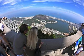 Expansive view of Rio de Janeiro