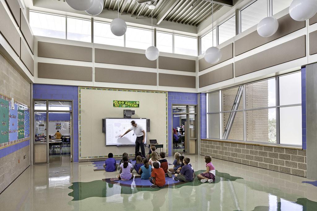 Cibolo Green Elementary School - Azrock Installation