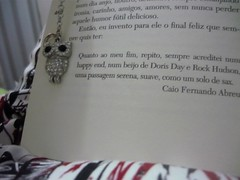 Happy End. (fran ciellen (:) Tags: paris book dress owl caiofernandoabreu caiof