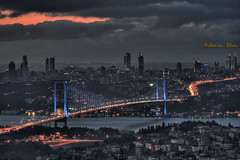 Bir Baka Tepeden (Kalem ve Mum) Tags: bridge canon turkey istanbul bosphorus kpr turkei amlca boazkprs bosphorusbridge