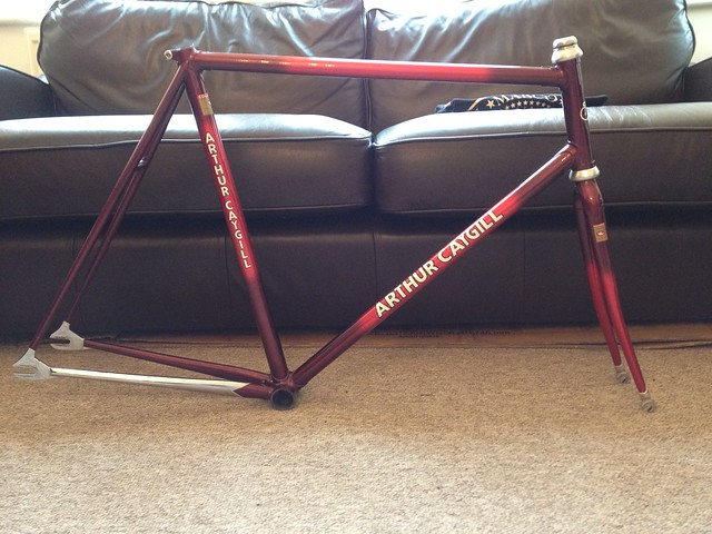 For Sale: Arthur Caygill Track Frame 56cm Columbus SLX | LFGSS