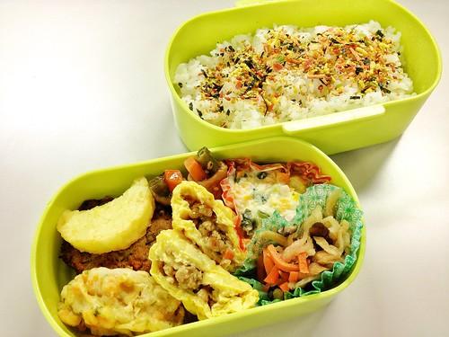 今日のお弁当 No.209 – 緑黄野菜