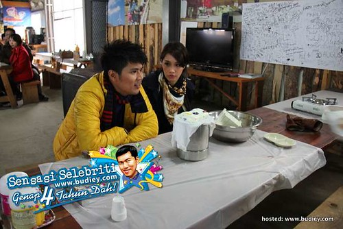Awal Ashaari & Scha di Korea