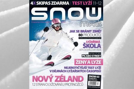 SNOW 63 - listopad 2011 - test lyží 11/12