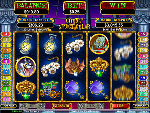 Count Spectacular slot game online review