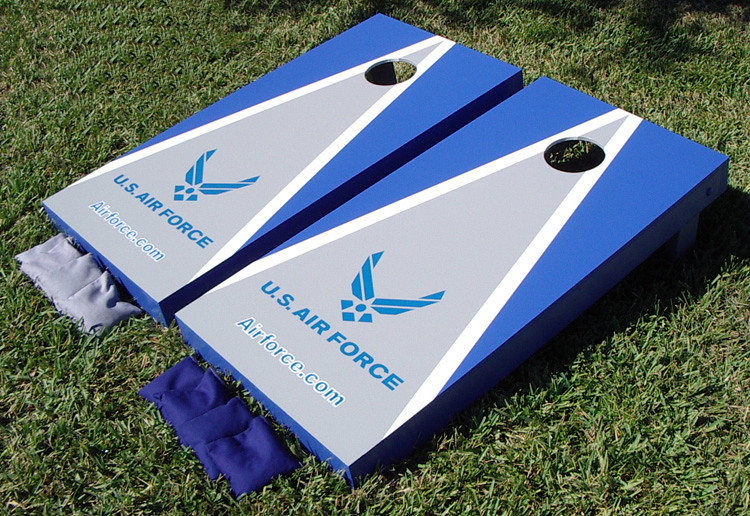 air force cornhole boards airforce - Cornhole Sets
