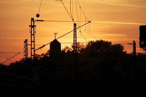 Sunset in Köln