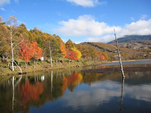 女神湖の紅葉③ 2011.10.26 by Poran111