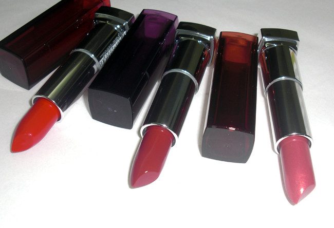 Maybelline's Color Sensational Lipsticks